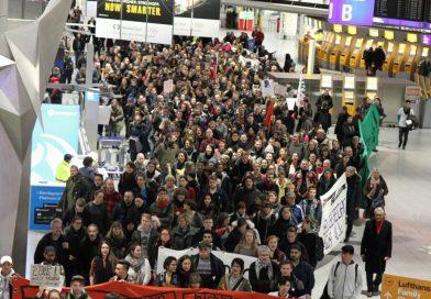 Manifestación en Frankfurt
