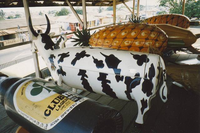 Los hermosos ataúdes personalizados de Ghana