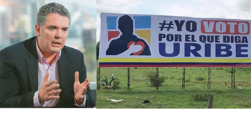 Uribe dijo: derecha colombiana ya tiene candidato para desinflar proceso de paz